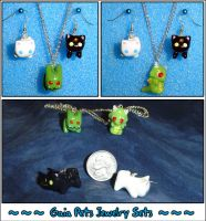 Gaia Online Jewelry Sets by YellerCrakka