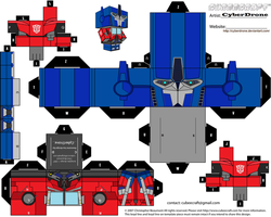 Cubee - Optimus Prime 'TF- Prime' v2 by CyberDrone