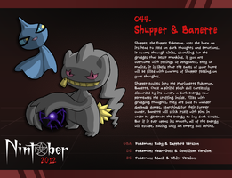Nintober 044. Shuppet and Banette by fryguy64