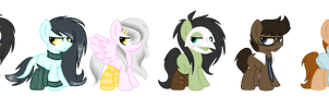 Sexually Frustrated Ponies by DejectedDetective