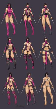 Evolution of Mileena by operatingthetan