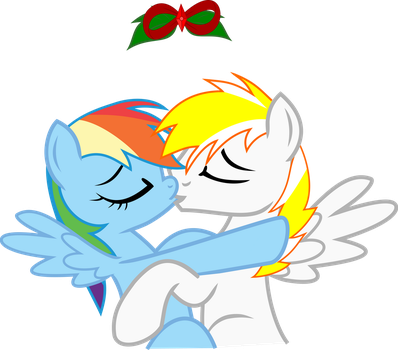 Vector RDSS Christmas kiss by Barrfind