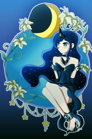 MLP princess luna by Lezzette