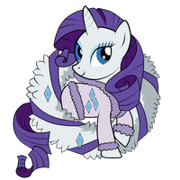 Rarity in Winter Dress by SouthParkTaoist