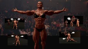 Ms Olympia Brawl by plinius