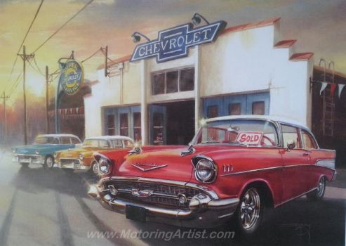 Tri Chevys For Sale by MotoringArtist