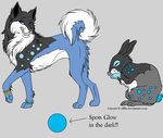 Design Me Pets Competition- Entry 2 by BlackWolf1112-ADOPTS