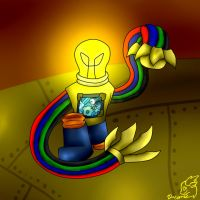 Light Riders: Tech Element: Rewire by DayDreamingDragon220