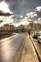 Amman Morning Street by Timothy-Sim