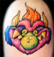 My Pet Monster Tattoo by RietOne