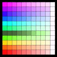 Rainbow Color Pallet by Temple-Amarok