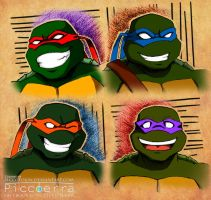 4 green ninja by PiccoToxin