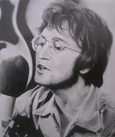 John Lennon by MaryMiYaVi
