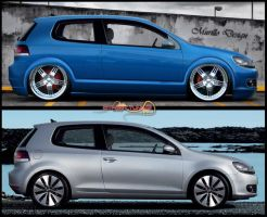 VW Golf Perfil by MurilloDesign