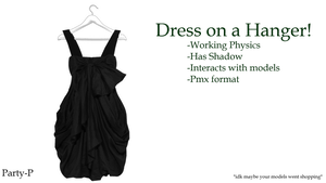 Accessory: Dress on a Hanger +Physics by Party-P