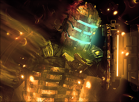 Dead space III by AdellTadrio
