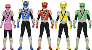 Requested: Bakuhatsu Sentai Shinseiger by Taiko554
