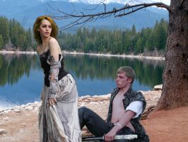 Arthur and Guinevere by 3punkins