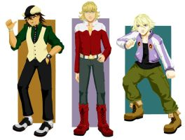 Bookmarks: Tiger and Bunny by Quatrina