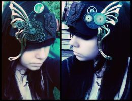 Steampunk Butterfly by daniellexzombie