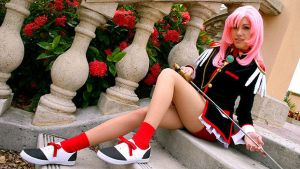 My favorite shot of Utena by IchigoKitty