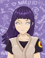 Hinata colored in 7.0 by ecrime00