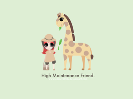 High Maintenance Friend by carnivalfish