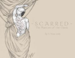 Scarred Wallpaper - Phantom by MadameGiry