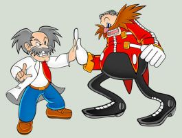 The Eggman the Wilyrus by kittygurl521