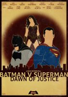 Batman v Superman: Dawn of Justice by GTR26