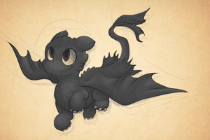Dat Toothless by Bienoo