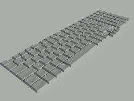 keyboard clay by rocneasta