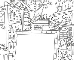 Izzy's Lab-pencils by TDI-Exile