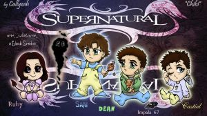 Supernatural - Chibis by Callyzah
