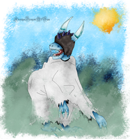 Eis Umarmung HIDDEN form - new background style by Dreamer-In-Shadows