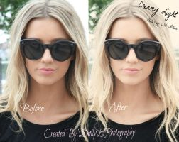 FREE Creamy Light Photoshop Action by EmilyLPhotography