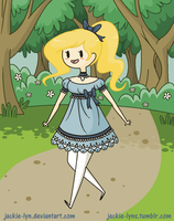 A wild Fionna has appeared by Jackie-lyn