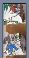 Sonic Bookend by Metal-CosxArt