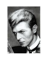 David Bowie by IrisBouman