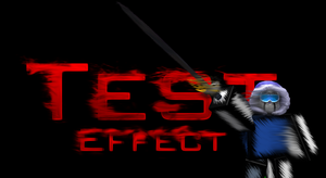 Test Effect by RetricDesignz