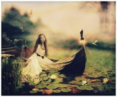 The Lady of Shalott by GingerKellyStudio
