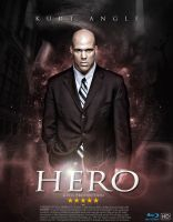 Kurt Angle - Fake Movie Poster by DGsWay