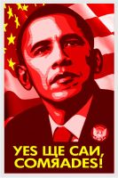 Comrade Obama by Miborovsky