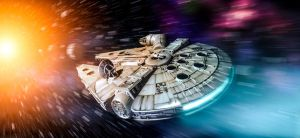 Star Wars -  Milennium Falcon by rOEN911