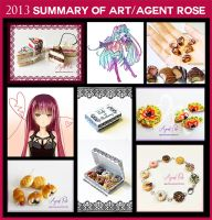 2013 Art Summary and Shoutout by AgentRose