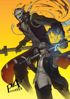 Persona 4 Protagonist by PATVIT