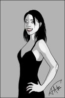 Sketch of a friend 1 by Jats