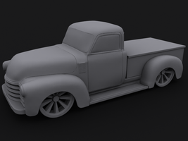 Chevy 1951 Pickup Wip by Squint911
