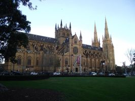 St. Marys Cathedral by NKonyk