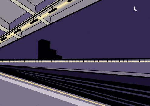 Chiswick Park Tube  by wjsutton12
